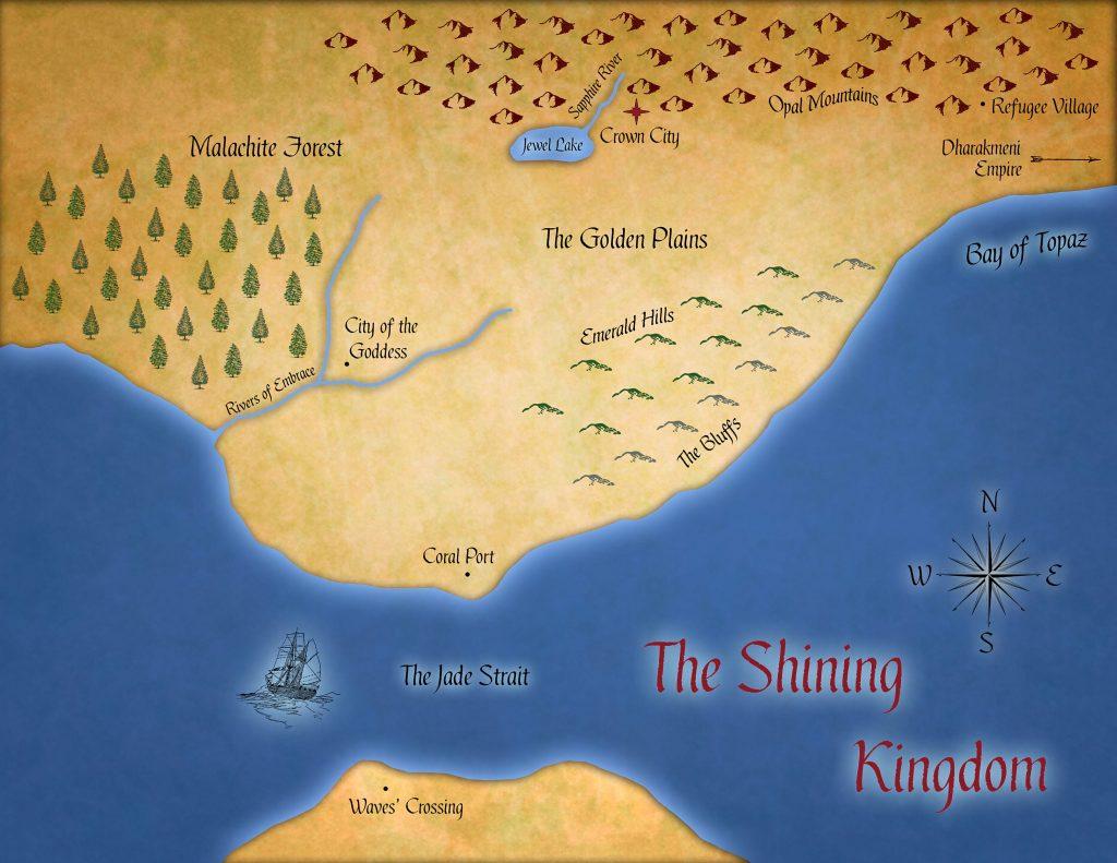 Shining Kingdom Map (Fatal Empire)