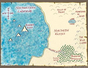 Northwestern Lasniniar Map