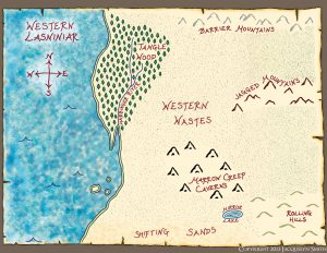Western Lasniniar Map